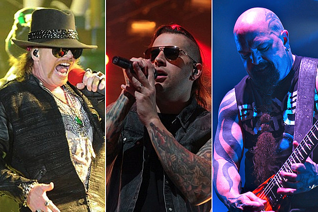 the lineup for the 2014 rock on the range festival