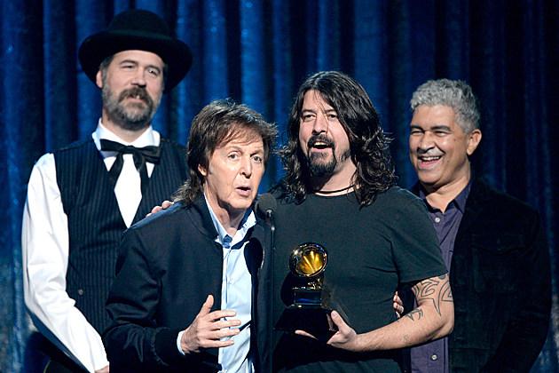 Krist Novoselic Paul McCartney Dave Grohl Pat Smear