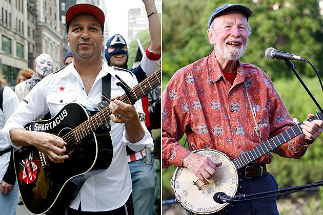 Tom Morello Pete Seeger
