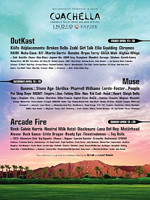 coachella 2014 lineup features motorhead afi queens of