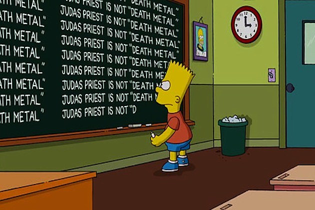 The Simpsons Judas Priest