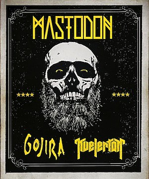 Mastodon, Gojira + Kvelertak