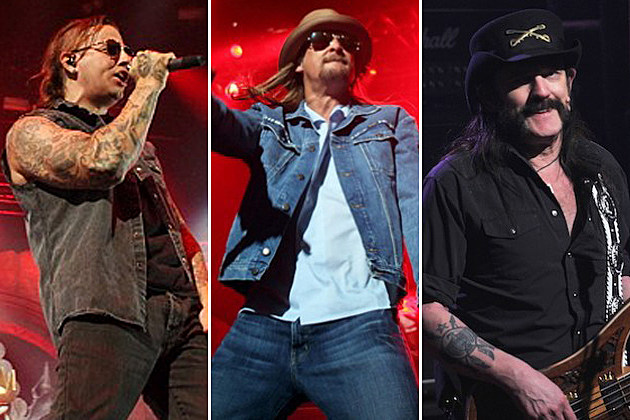 Avenged Sevenfold Kid Rock Motorhead
