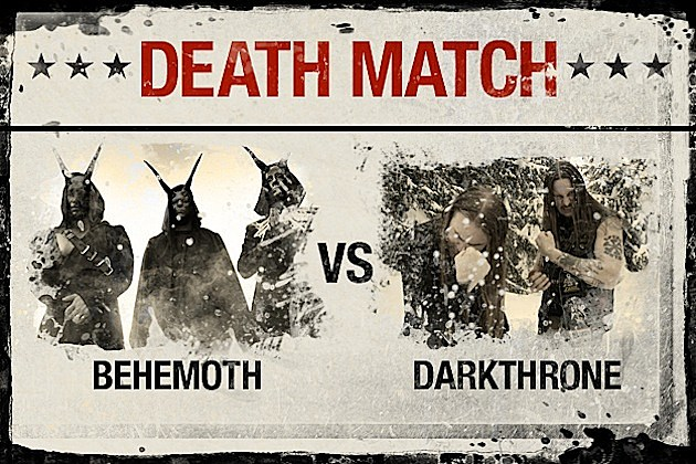 Behemoth vs. Darkthrone