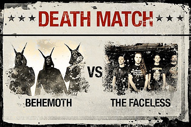 Behemoth vs. The Faceless