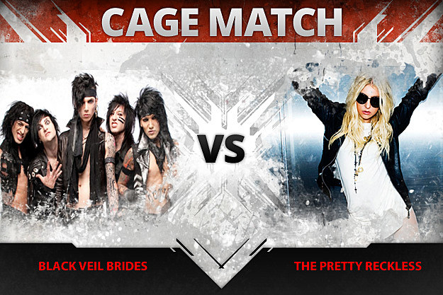Black Veil Brides vs The Pretty Reckless