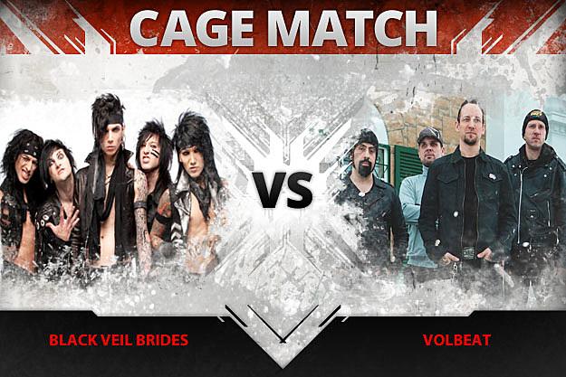 Black Veil Brides vs Volbeat