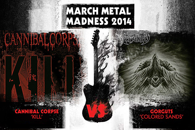 Cannibal Corpse vs. Gorguts