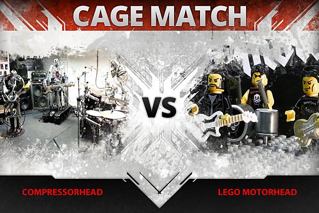 Compressorhead vs Lego Motorhead