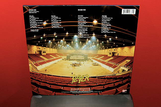 Slayer - 'Decade of Aggression' - Vital Vinyl