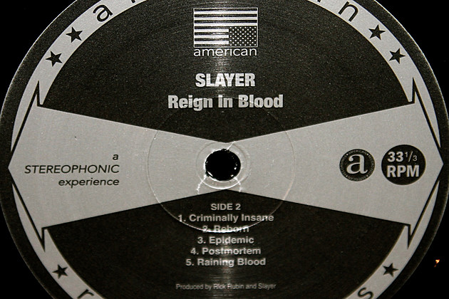 Slayer - 'Reign in Blood' - Vital Vinyl