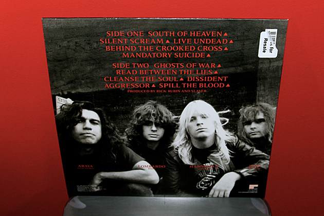 Slayer - 'South of Heaven' - Vital Vinyl