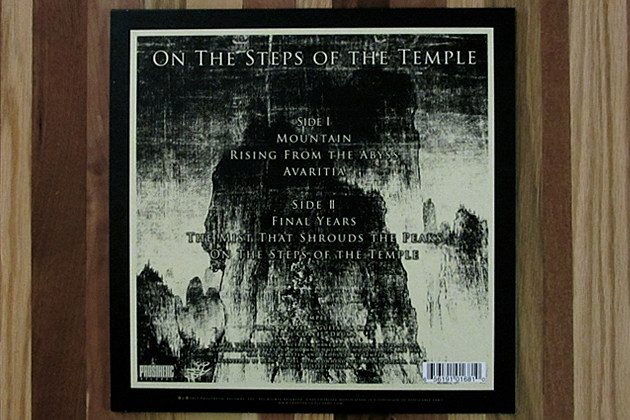 Tempel - 'On The Steps Of The Temple' - Vital Vinyl