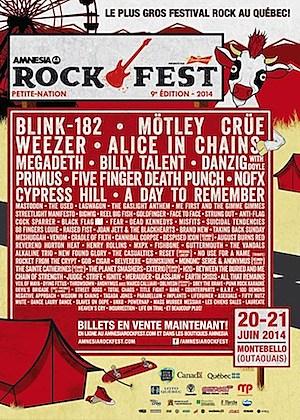 2014 PNR Amnesia Rockfest