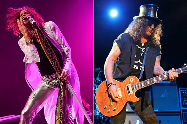 Aerosmith's Steven Tyler / Slash