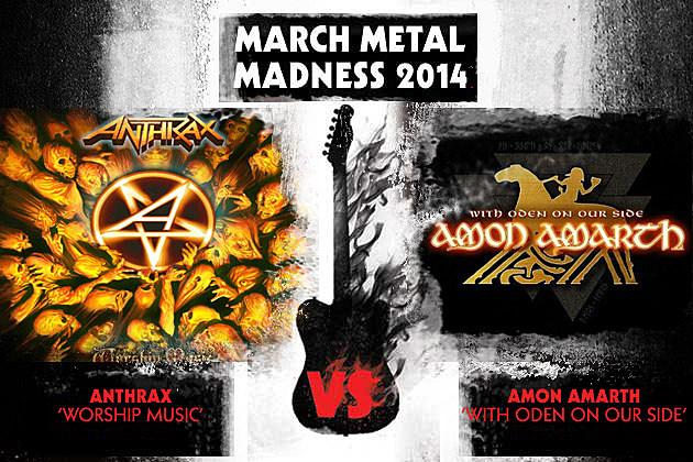 Anthrax vs Amon Amarth