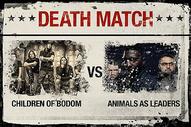 Children of Bodom vs. Animals as Leaders