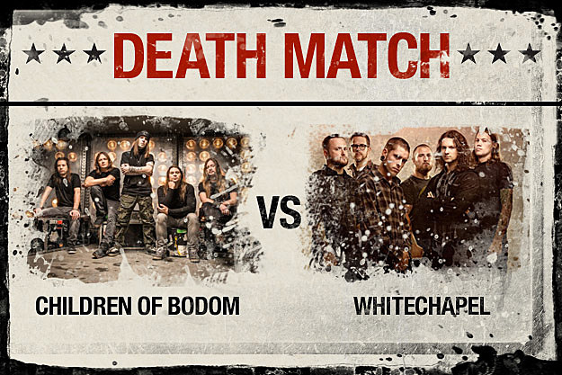 Children of Bodom vs Whitechapel