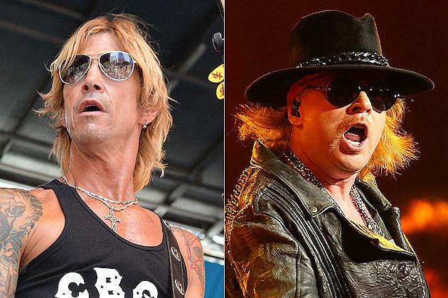 Duff McKagan / Axl Rose