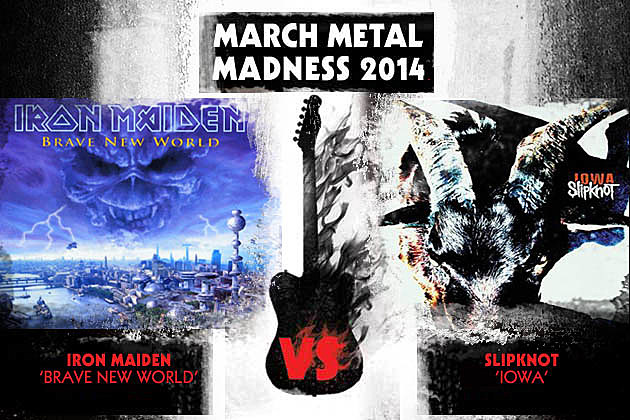 Iron Maiden vs Slipknot