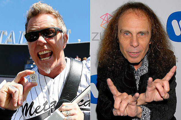 James Hetfield / Ronnie James Dio