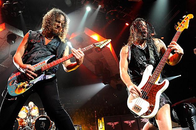 Metallica Kirk Hammett Robert Trujillo