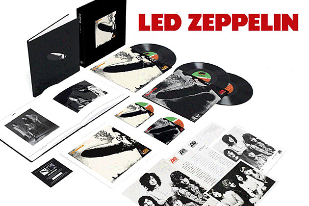 Led Zeppelin To Release Box Set Editions Of First Three