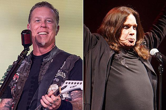 Metallica Ozzy Osbourne