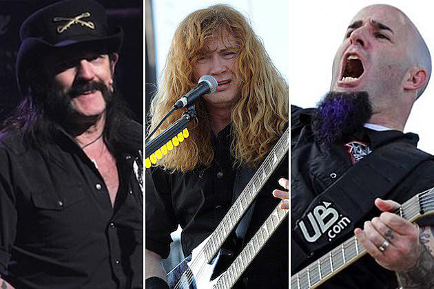 Motorhead Megadeth Anthrax