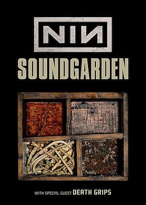 NIN Soundgarden Poster