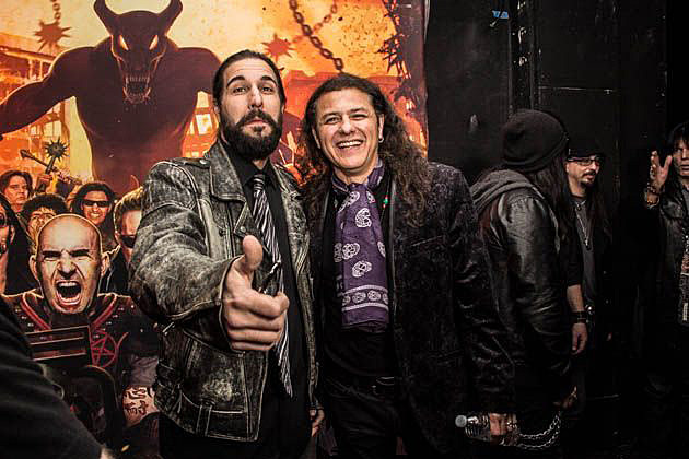 Brian Tichy and Oni Logan