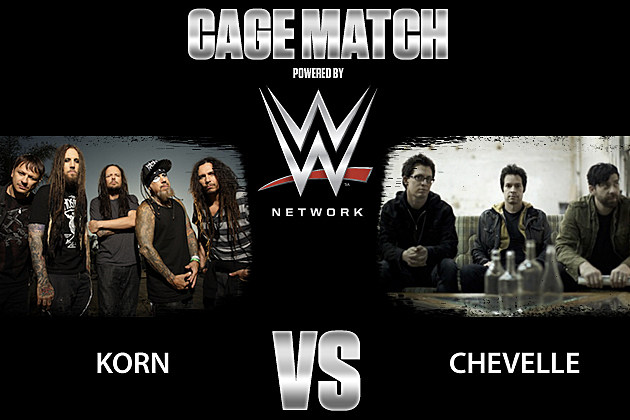 Korn vs Chevelle Cage Match
