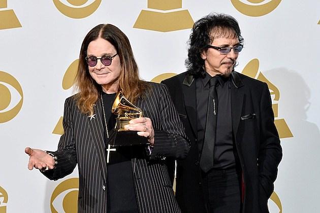 Ozzy Osbourne and Tony Iommi