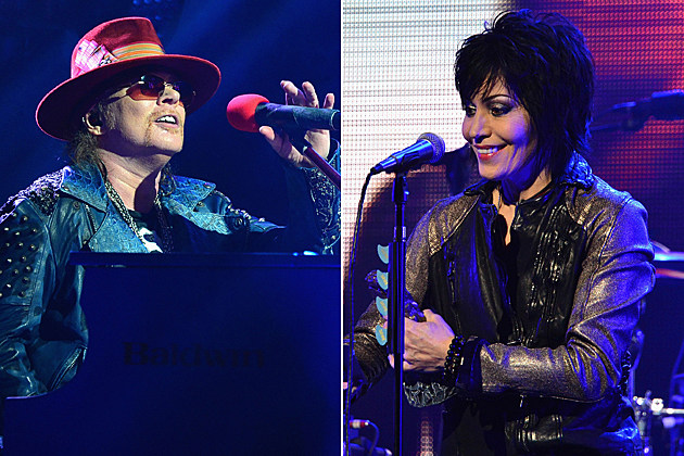 Axl Rose Joan Jett