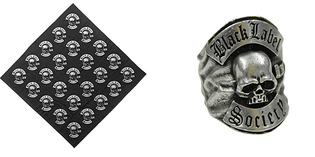 Black Label Society Bandana and Ring