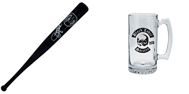 Black Label Society Bat and Mug