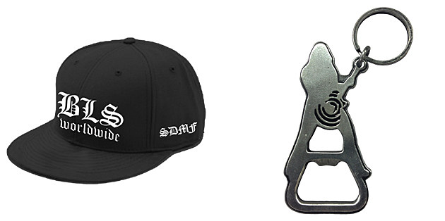 Black Label Society Hat and Bottle Opener