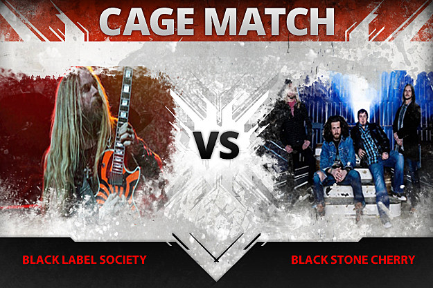Black Label Society vs Black Stone Cherry