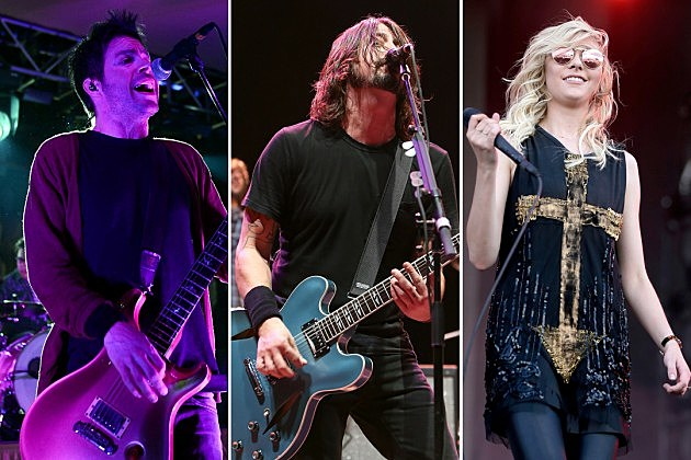 Chevelle Foo Fighters The Pretty Reckless