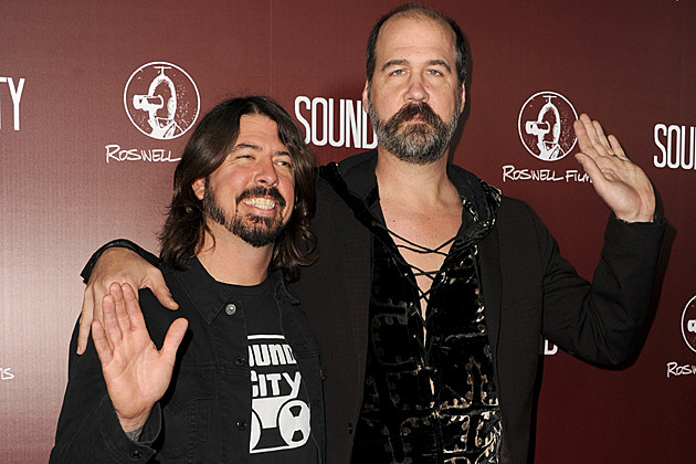 Dave Grohl Krist Novoselic