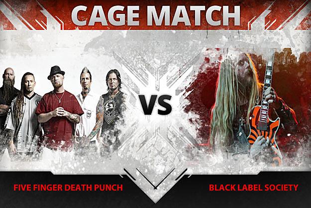 Five Finger Death Punch vs Black Label Society