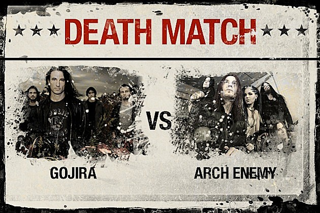 Gojira vs. Arch Enemy
