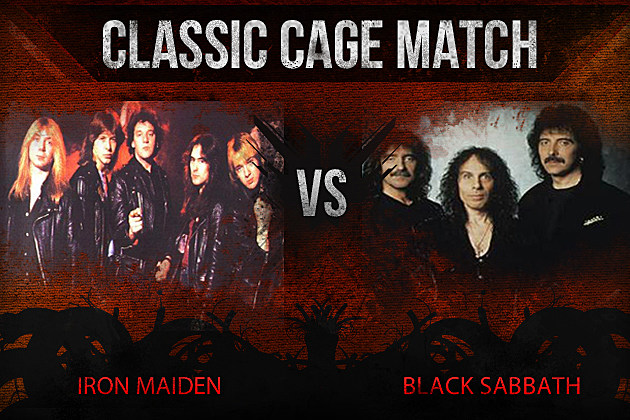 Iron Maiden vs Black Sabbath