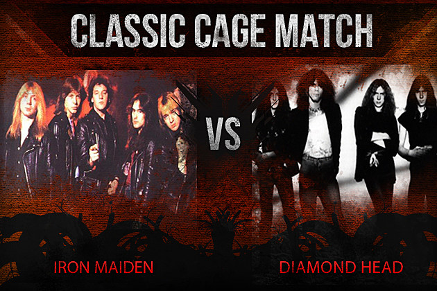 Iron Maiden vs Diamond Head