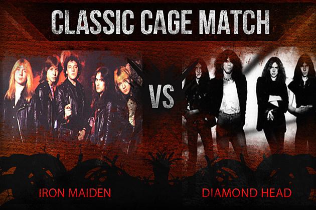 Iron Maiden vs Diamond Head