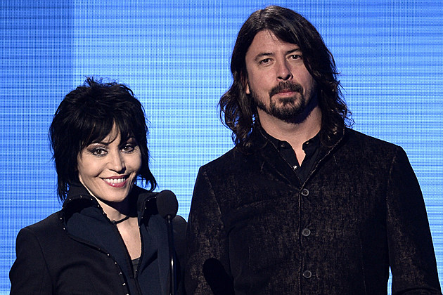 Joan Jett Dave Grohl