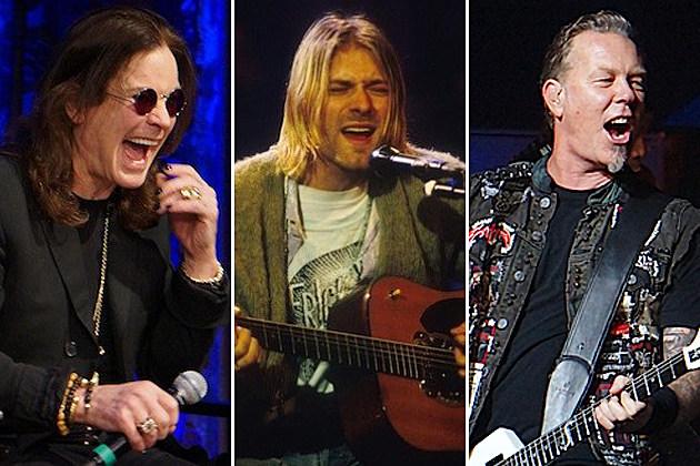 Ozzy Osbourne Nirvana Metallica