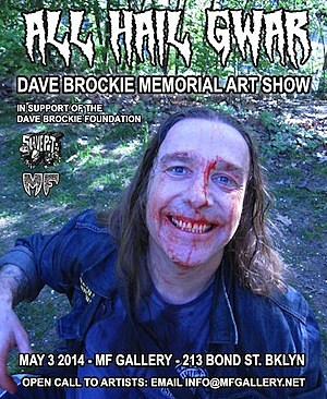 All Hail GWAR Art Show