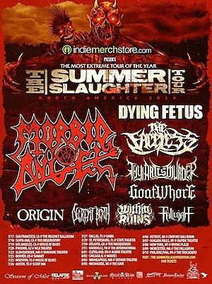Dates Revealed for Morbid Angel-Headlined 2014 Summer Slaughter Tour