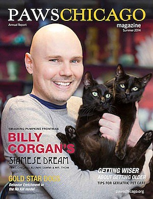 Billy Corgan Paws Chicago
